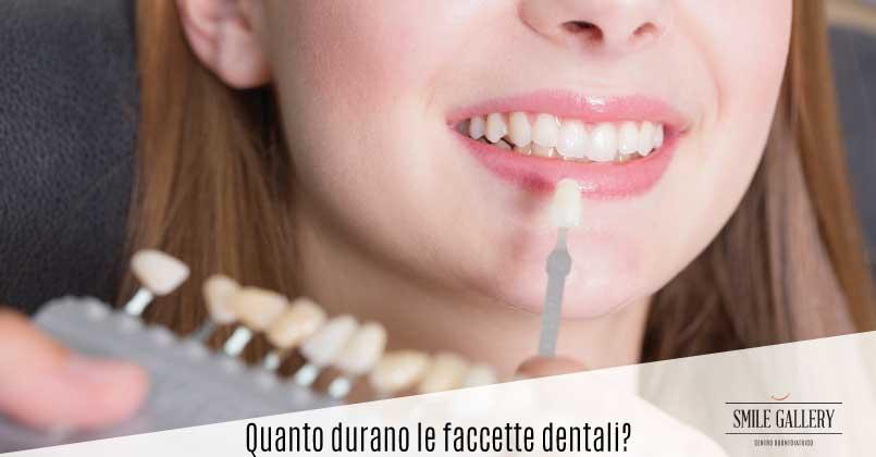 Quanto durano le faccette dentali e come prendersene cura?