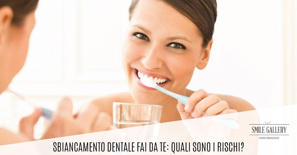 Sbiancamento dentale fai da te | Smile Gallery | Dentista a Verona