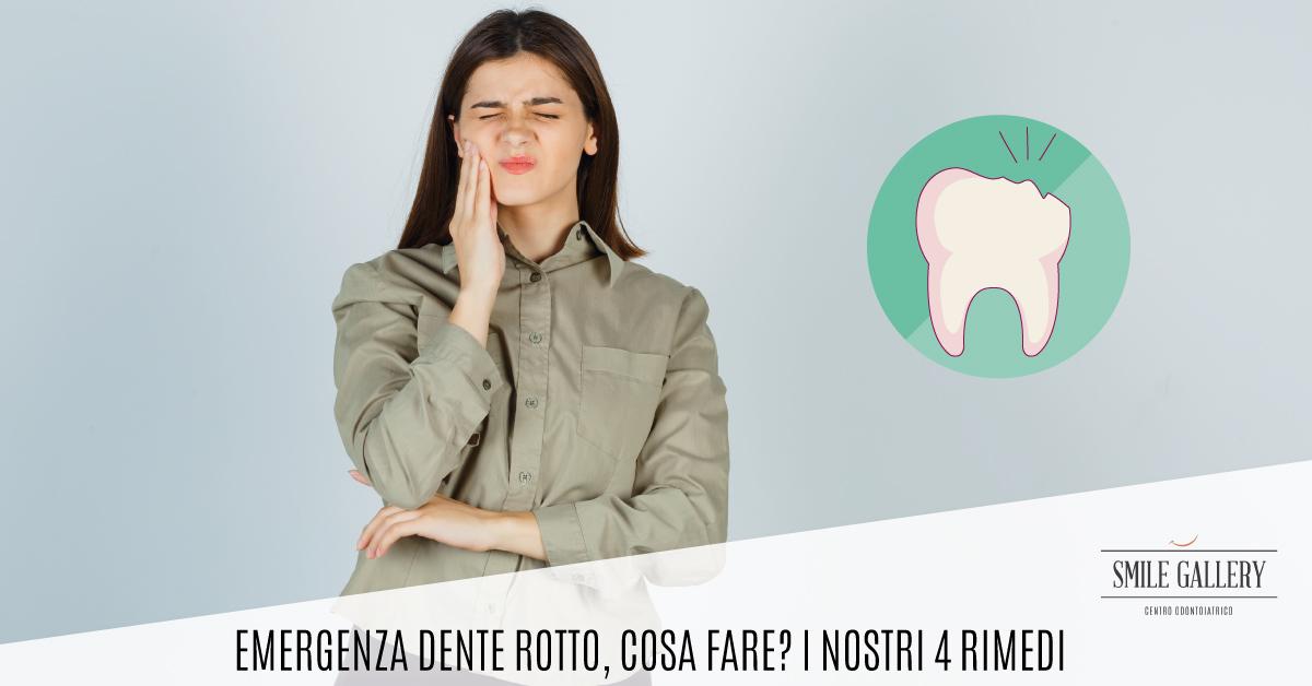 dente rotto cosa fare | Smile Gallery | Dentista a Verona
